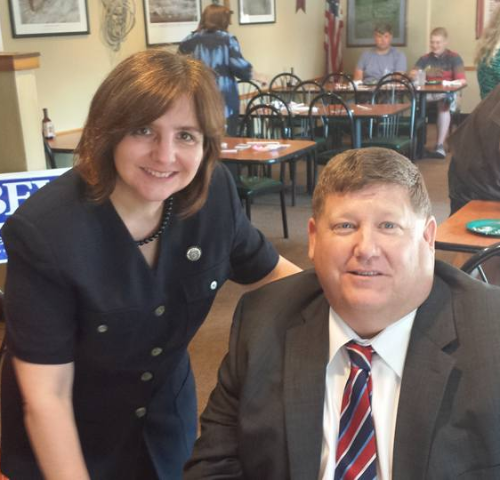 Last week I spoke at the Jefferson County Republican Club. We were privileged to get to sit at the same table with Mike Reuter. Our message was warmly received by so many great folks who care about the direction our Country is heading. It was very encouraging to be among lots of like-minded people.