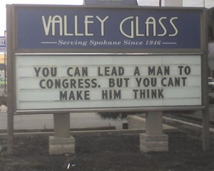 Lead a Man to Congress