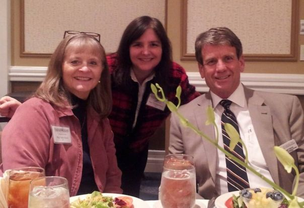 Sally Kern, me and Michael Farris at the Wallbuilders Conference
