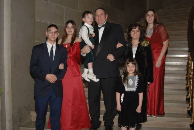 This photo was taken during the Grand March of the Inaugural Ball at the Capitol on the day I was sworn in for another term.  Our two oldest children were not able to join us, but the five younger ones remember this as a day when there was a positive energy around the Capitol.