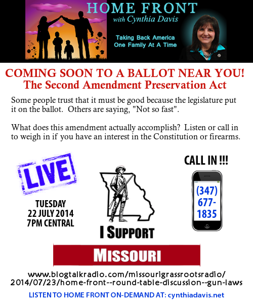 Changing Gun Laws in Our Missouri Constitution - Home Front