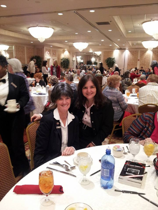 This is a photo of me with Bev Ehlen, head of Concerned Women For America in Missouri.