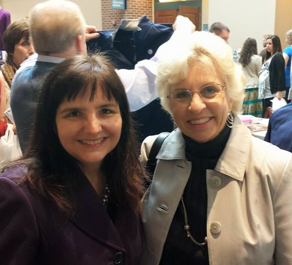 Here I am with Pam Fichter, Former President of Missouri Right to Life, at the Respect Life Convention in St. Louis.