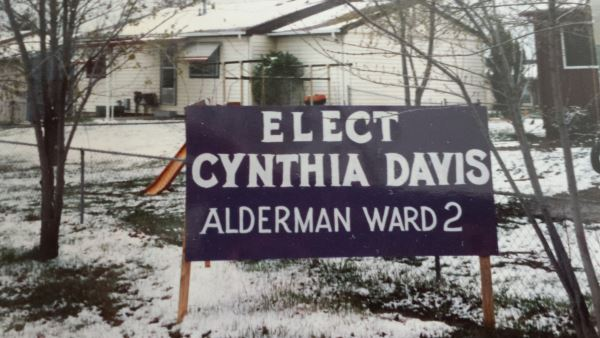 22 years ago, campaigns weren't so expensive.  My mother hand painted my large signs for me.